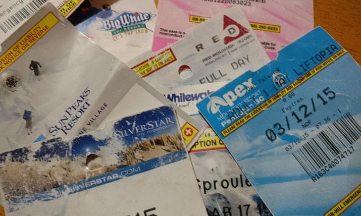 discount ski tickets